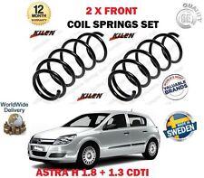 Per Vauxhall Opel Astra 1.8 + 1.3 CDTI 2004 -- > NUOVO 2 X Anteriore Molle a Spirale Set