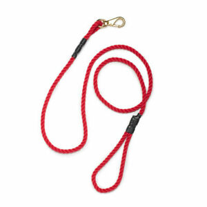 Best Made Co. - Rope Dog Pet Leash - Red X - 1000275 New 6' Made in USA Beast
