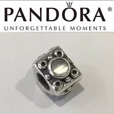 Rare Retired Pandora Collector Moonstone Triangle 790217MS Vintage Original