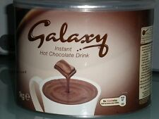 GALAXY LUXURY INSTANT HOT CHOCOLATE DRINK 1Kg TIN & FREE P&P