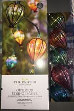 Threshold Decorative Iridescent Tear Drop String Fairy Lights Outdoor