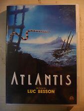 """DVD """"ATLANTIS"""" LUC BESSON MEDUSA 1991"""