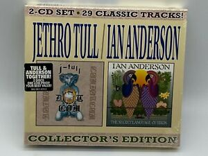 JETHRO TULL & IAN ANDERSON - COLLECTORS EDITION CD 2005 NEW & SEALED