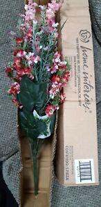 Homco Home Interiors Silk Flower Wildflower Snapdragon Spray stem bouquet new bo