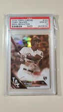 2016 Topps Chrome Sepia Refractor Corey Seager RC Rookie #150 PSA 10 Gem Mint
