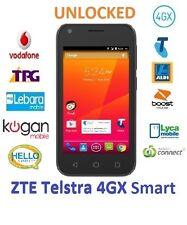 New *Unlocked* Telstra ZTE 4GX Smart A112 4G Android 6.0 (Aldi, Boost, Lyca...)
