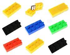 PENDRIVE 16gb Tipo LEGO  5 colori