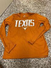 Texas Lomghorns DriFit Shirt Youth 12/14