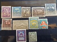 EARLY ARMENIA STAMP COLLECTION
