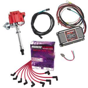 HEI Distributor Kit w/MSD 5520 Street-Fire CDI Ignition, SBC/BBC