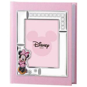 Album Fotografico Minnie Mouse Disney Personalizzabile in Ecopelle Rosa D386 3RA