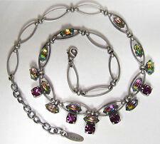 Modeschmuck ketten  Versilberte Modeschmuck-Ketten aus Glas | eBay
