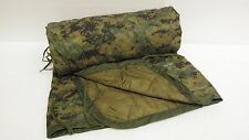 USMC MILITARY Poncho/Blanket  Reversible Digital Woodland/Coyote  GRADE A WOOBIE