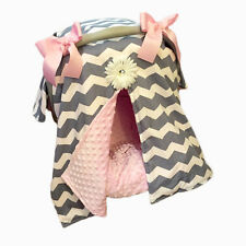 Newborn Baby Girl Boy Soft Car Seat Basket Buggy Cover Infant Tent Minky Blanket
