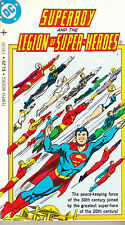 Superboy & the Legion of Super-Heroes (Tempo Books, 1977) B & W novel-sized
