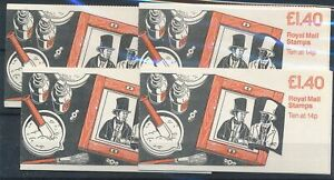 [22149] Great Britain 4x good complete booklet very fine MNH