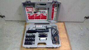 Porter Cable Profile Sander Kit, Model 444, Detail Modeling Set W/ Case & Acc.