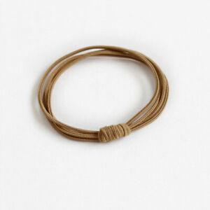 1PCS Elastic Hair Band Rubber Hair Tie Ponytail Holder Women Hair Ties Hairband