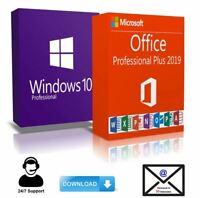 Windows 10 Pro + Office 2019 Pro Plus KEY - BLITZVERSAND 30 Sek.✔️