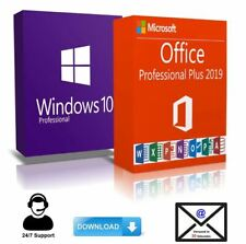 Windows 10 Pro + Office 2019 Pro Plus KEY - BLITZVERSAND 30 Sek.✔️