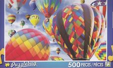 New Puzzlebug 500 Piece Jigsaw Puzzle ~ Fun in the Air Hot Air Balloons