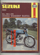 NEW 1980's Suzuki A100 (1969-1979) Haynes Shop Manual Repair Book A 100 CA82
