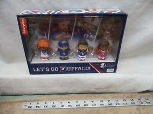 Fisher Price Little People Buffalo Bills Collector Football Josh Allen Wegmans