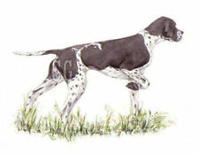 POINTER .         3 Blank Dog greeting cards by Christine Groves
