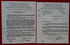1957 Frederic JOLIOT-CURIE e.U. Appell gegen Atomwaffentests  GÖTTINGER MANIFEST