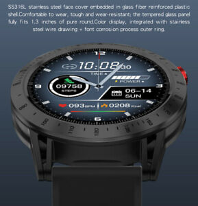 Waterproof Smart Watch Heart Rate Sport Fitness Tracker for iOS Android Phones