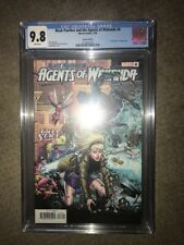 Black Panther and the Agents of Wakanda #6 CGC 9.8 Gwen Stacy variant