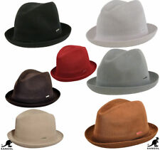 Kangol New 100% Authentic Tropic Player Fedora Trilby Hat Cap 6371BC