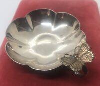 C. 1912 Sterling Silver 925 Wine Taster Cup British Hallmarked Anchor Lion N 72g