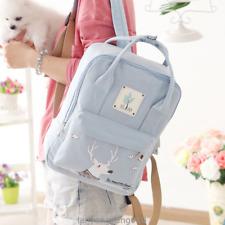 Harajuku Cute Dear Print Backpack School Bags Women Casual Travel Laptop Bagpack