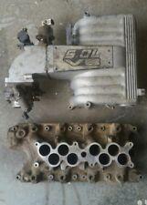 Ford 5.0 Upper & Lower Intake Manifold Plenum EFI Throttle Body 302 GT40 Mustang