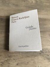 New maison francis kurkdjian Paris Gentle Fluidity Eau De Parfum 0.06oz/2ml