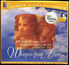 Screen a Day Calendar: Whispers From Above: 365 Angel Messages to Guide You!