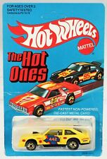 Hot Wheels Flat Out 442 The Hot Ones Series #2506 New NRFP 1981 Yellow 1:64