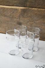 Set of 4 Arcoroc Half Pint Beer Soft Drink Glass Summer Wedding Pub 10oz Party
