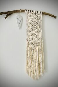 MACRAME LARGE WALL HANGING KIT - Craft New Skill Project Gift Home Handicraft UK