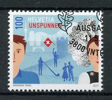 Switzerland 2017 CTO Unspunnen Unspunnenfest 1v Set Cultures Festivals Stamps