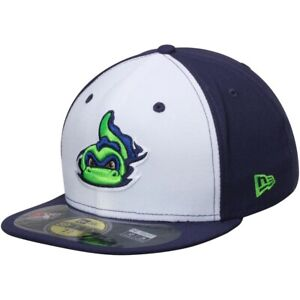 New Era Vermont Lake Monsters 59Fifty Low Crown Fitted Baseball Hat 7 1/4 MILB
