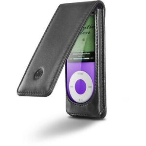 Digital Lifestyle Outfitters 71025-17 Hipcase Leather Folio for Ipod Nano 4G
