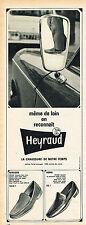 PUBLICITE ADVERTISING 114  1967  HEYRAUD   chaussures mocassins homme