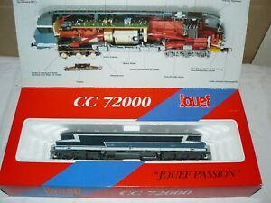 train electrique ho sncf Jouef locomotive CC 72081