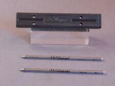 S.T. Dupont ball pen refills-black---- 2 refills for lady dupont ball pen