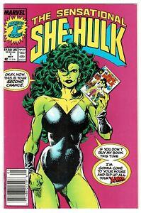 The Sensational She-Hulk No 1 - 1989 HIGH GRADE!