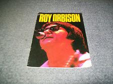 Roy Orbison Australian Tour 1983 Program