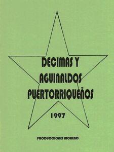 Décimas y Aguinaldos Puertorriqueños (Letras)