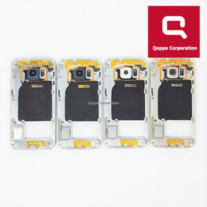 Samsung Galaxy S6 Edge G925F Genuine Middle Chassis Housing With Parts Fast P&P